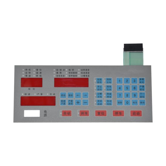Factory Open Window Capacitive Touch Membrane Switch Keypad