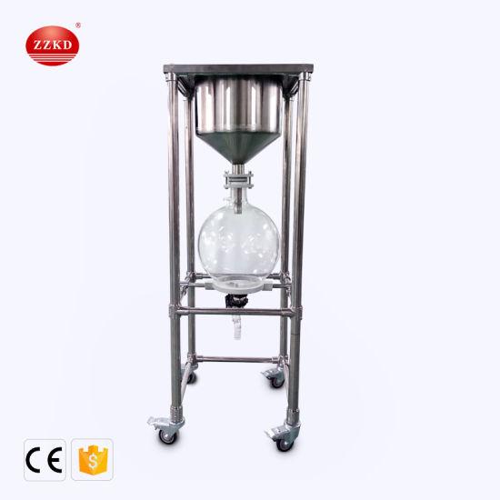 10L 20L 30L 50L Stainless Steel Buchner Funnel Vacuum Nutsch Filter