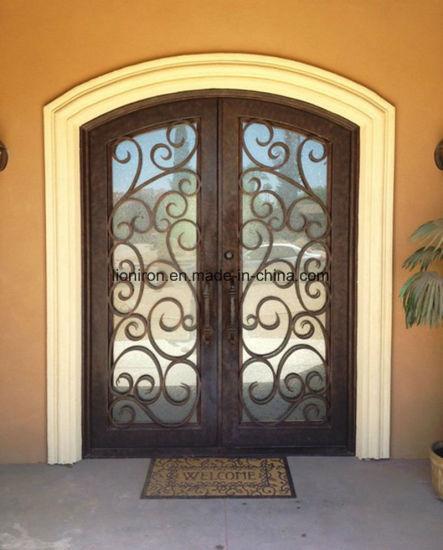 China Steel Door Entry Doors Type Hot Sale Iron Security Doors