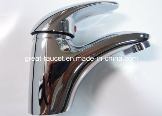 High Quality Water Saving Bathroom Lavatory Faucet (GL8501A85) pictures & photos