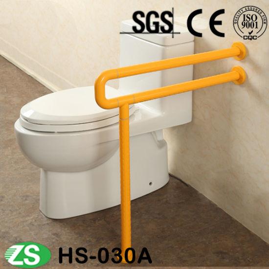 Aluminum+Nylon Bathtub Handrails Anti-Slip Washbasins Handles Grab Bars