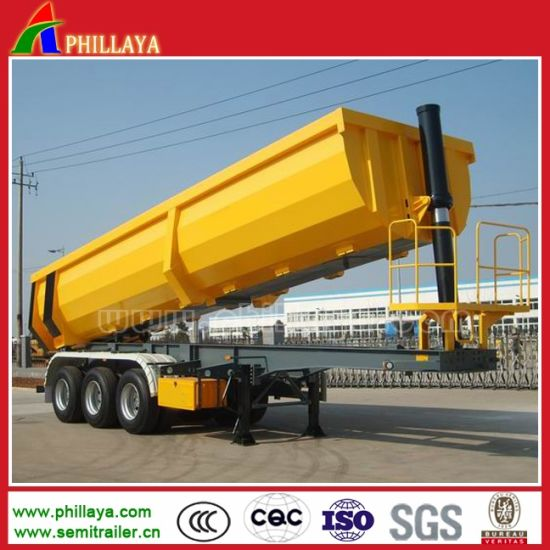 Hydraulic Tipper Trailer for Mining Transportation pictures & photos