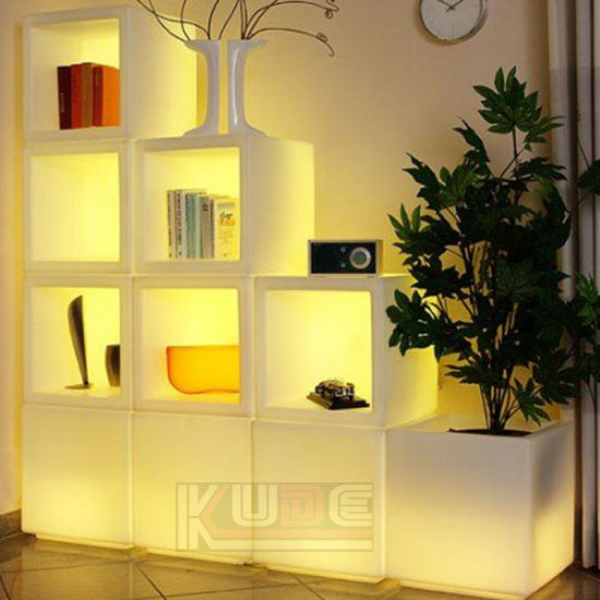 Mood Light Deco Cube LED Cube Bookstore Cube Flower Pot