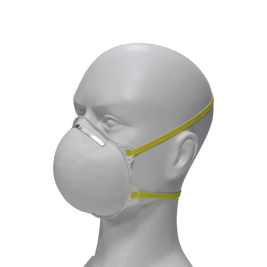 Disposable Flat -Fold Particulate Respirator Cup KN95 Mask for Traning