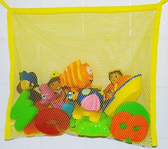 Hot Sell Flat Mesh Bag Organizer for Baby Bath Toys pictures & photos