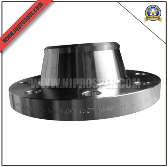 Hot Sale Carbon Steel Welding Neck Flange (YZF-F05) pictures & photos