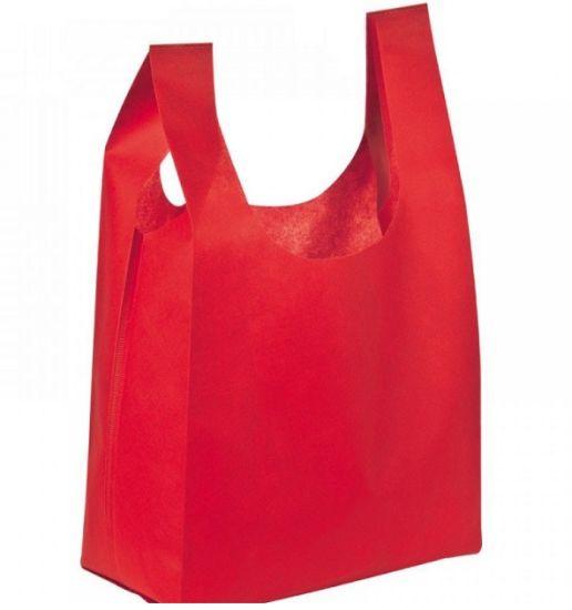 Biodegradable Polypropylene Non Woven Fabric Non Woven Vest Bag