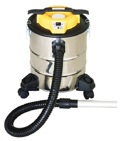 401-20L Electric Dry Dust Fireplace Ash Vacuum Cleaner with Filling Indicator with or Without Wheelbase