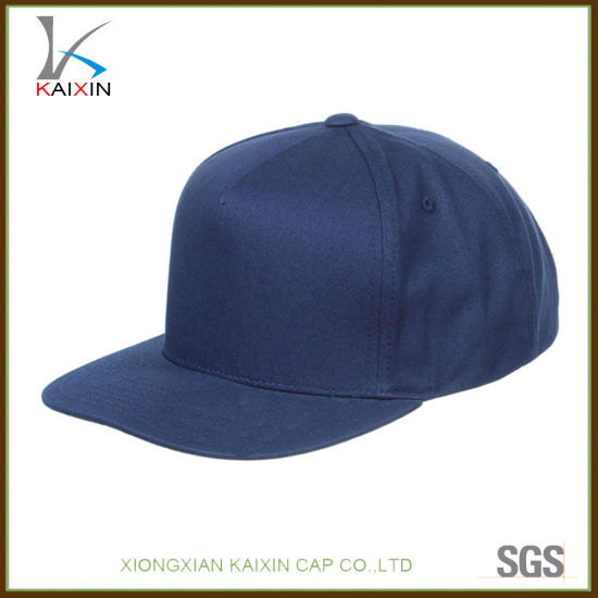 China Wholesale Navy Blue Blank Plain Snapback Hats and Caps - China ... af1c2b302602