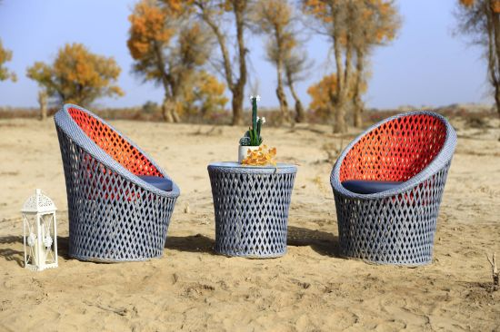 New Arrive High Quality Fashion Rattan Weave Outdoor Sofa Furniture
