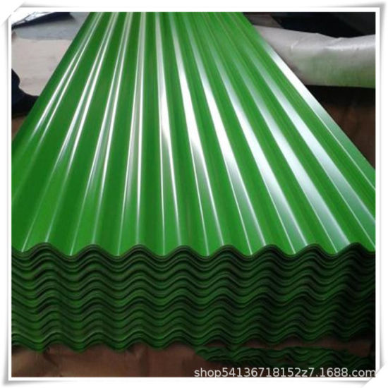 Regular Spangle Hot Dipped Galvanized Gi Corrugated Iron Steel Roofing Sheet