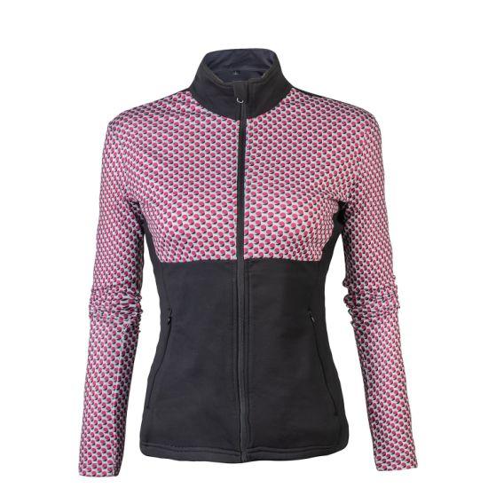 Wholesale Custom Women's Riding Sublimation Printing Polyester Elastane Sweatshirt
