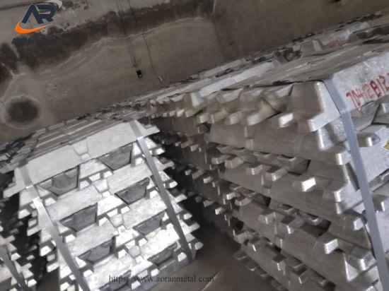 Factory Wholesale Aluminum Ingots 99.0%-99.9%