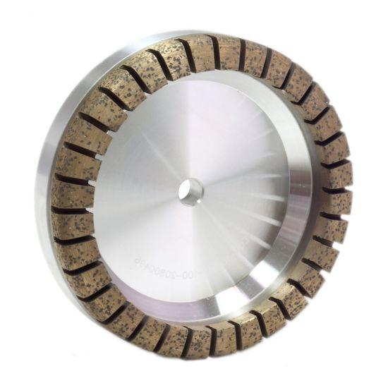 Sintered Segmented Diamond Grinding Wheel in Glass Machine