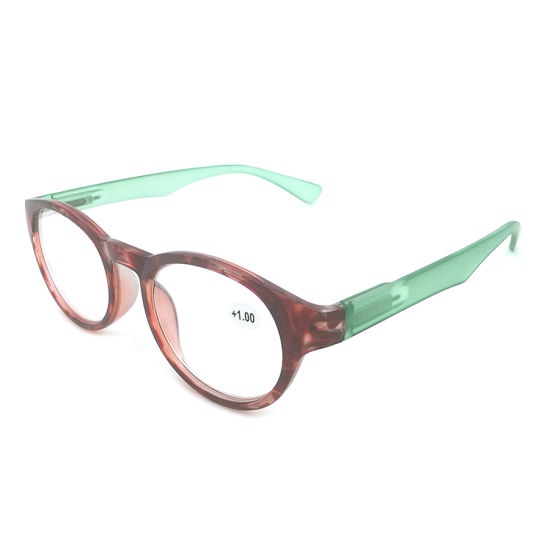 2020 China Wholesale Colorful Round Frame Reading Glasses pictures & photos