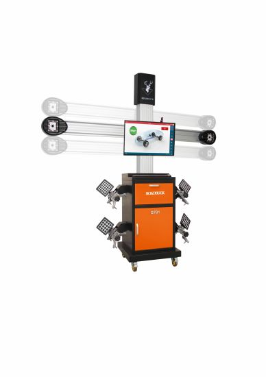 Auto Tracking 2 Camera 3D Four Wheel Aligner Machine for Car Lift