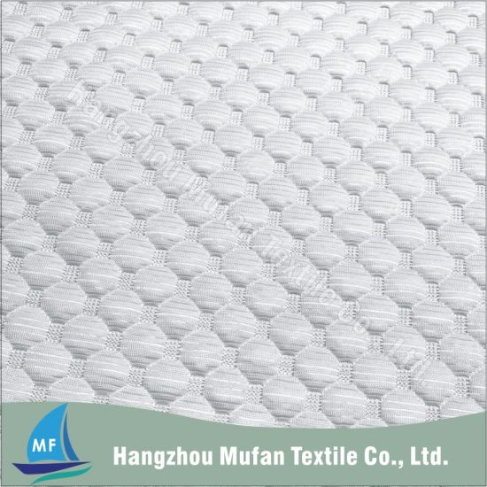 Home Textile Anti-Pilling Viscose Bed Mattress Ticking Fabric Jacquard Knitted Fabric