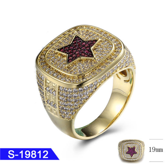 New Fashion 925 Sterling Silver or Brass Jewelry CZ Ring for Sale pictures & photos