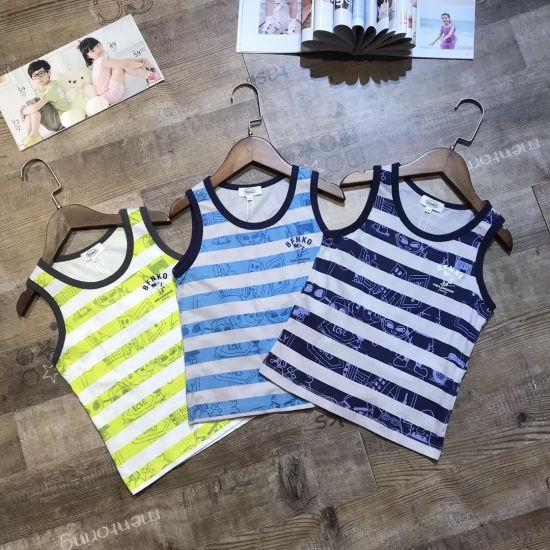 Wholesale Children Clothing Stock Appear Pattern Color Home Comfortable Vest