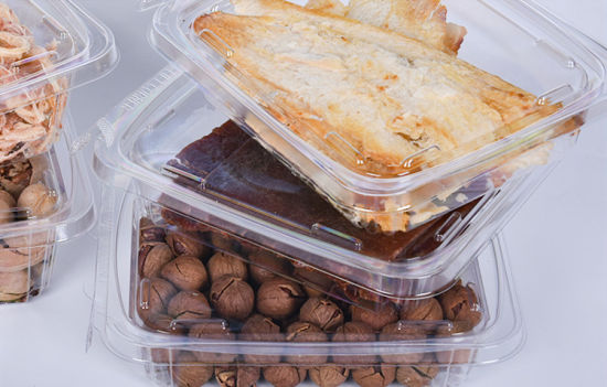 Sealing Plastic Clear Tray with Lid