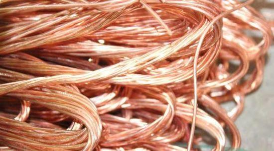 High Purity 99.9%Min Bright Materials Cu Metal Copper Wire Scrap