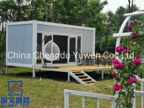 New Type Quick Installing Flat Pack Moveable Modular Container Home