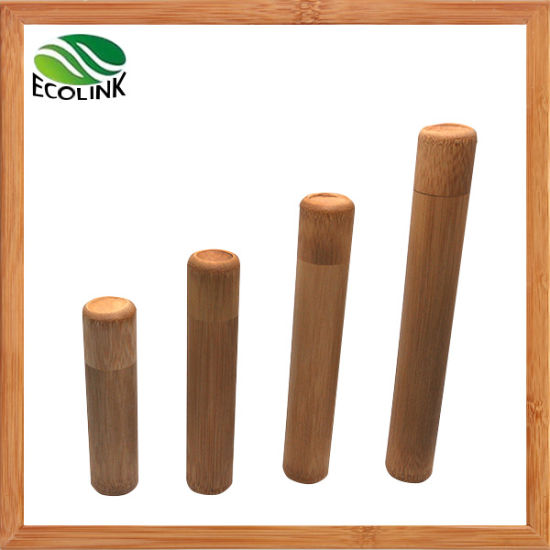 Bamboo Storage Tube Tea Canister Tea Tube pictures & photos
