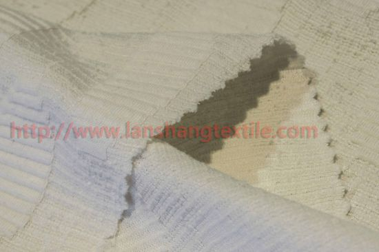Dyed Jacquard Ccotton Polyester Fabric for T-Shirt Soft pictures & photos