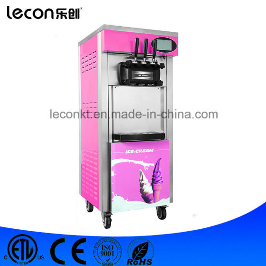 3 Flavors Frozen Yogurt Machine/ Ice Cream Making Machine