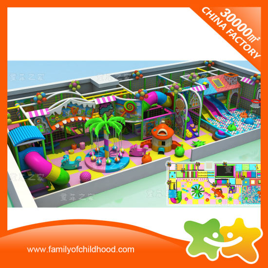 China Soft Play Preschool Indoor Playground Equipment For Sale