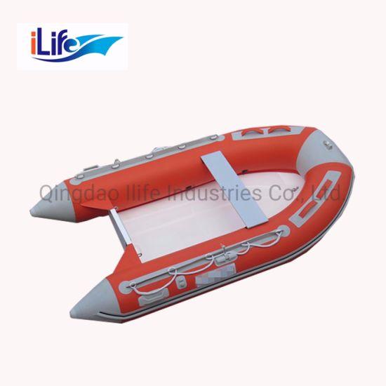 Ilife China Novel PVC Rigid Inflatable Fiberglass Rib 260 Boat