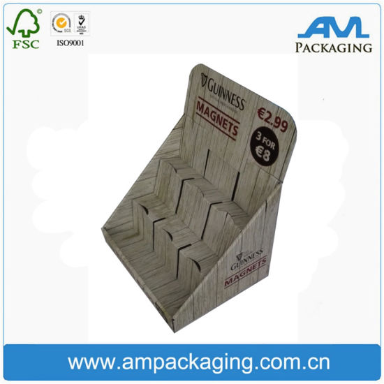 Custom Rigid Corrugated Paper Cardboard Display Box with Division pictures & photos