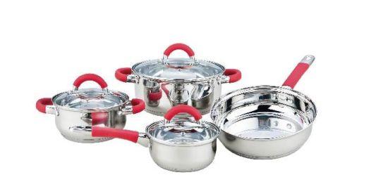 7 PCS Silica Gel Cookware Set