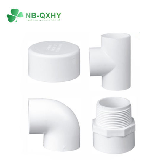China Manufacture New Design Factory Price PVC Pipe Fittings