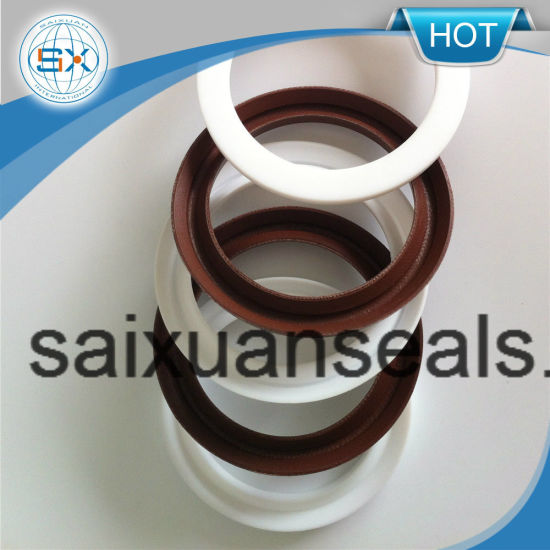 Reinforced Teflon PTFE V Shaped Packing Seal Ring for Mechanical Seal Pump