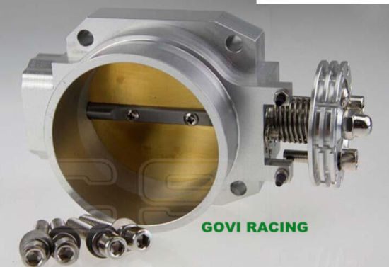 Mechanical Silver Throttle Body for Nissan Rb25 Racing Intake Manifold