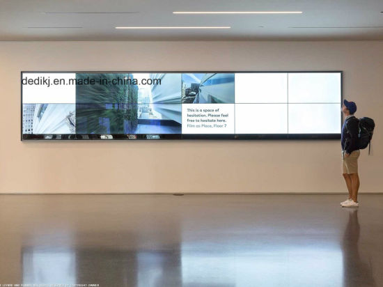 """LCD Video Wall Displays with Super Narrow Bezel (49"""" & 55"""")"""