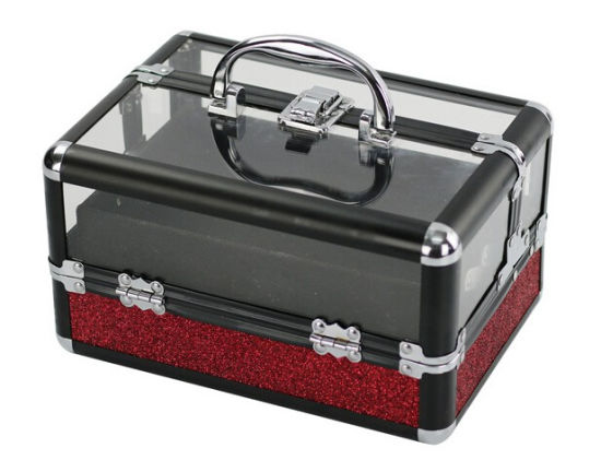 3ae5d6025 Excellent Quality Acrylic Top Travel Makeup Train Case with Tray pictures &  photos