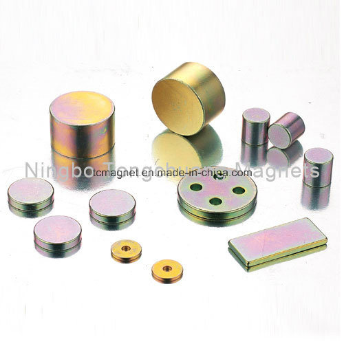 NdFeB Magnets with Specific Coating pictures & photos