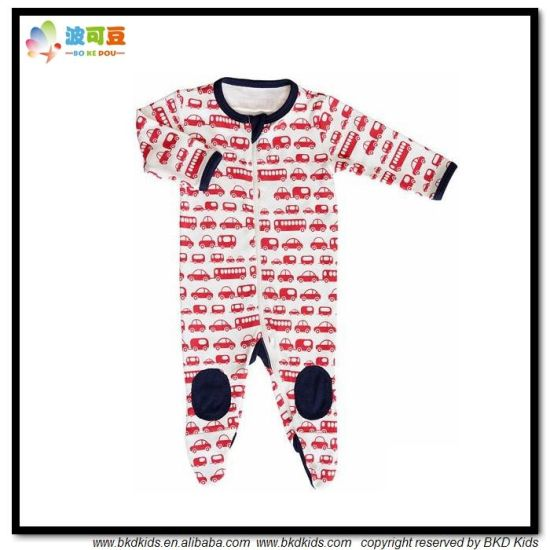 Car Printing Baby Clothes Long Sleeve Baies Romper