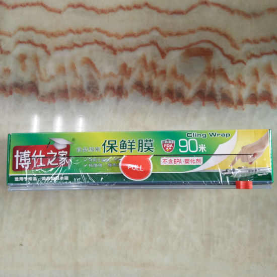 Cutter Box PE Food Cling Warp, Jumbo Roll Cling Wrap pictures & photos