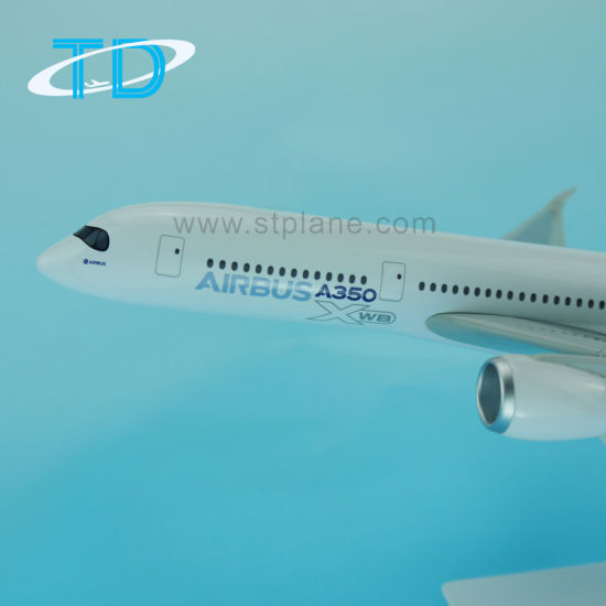Manufacture Plane Model Plastic Craft A350 Airbus Gift Item pictures & photos