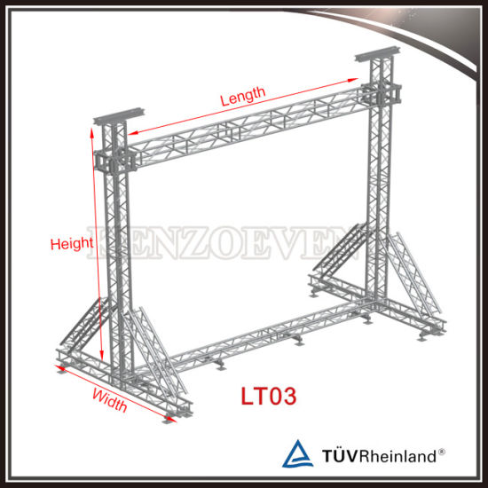 China cheap led screen truss hanging truss box truss for Cheap trusses for sale