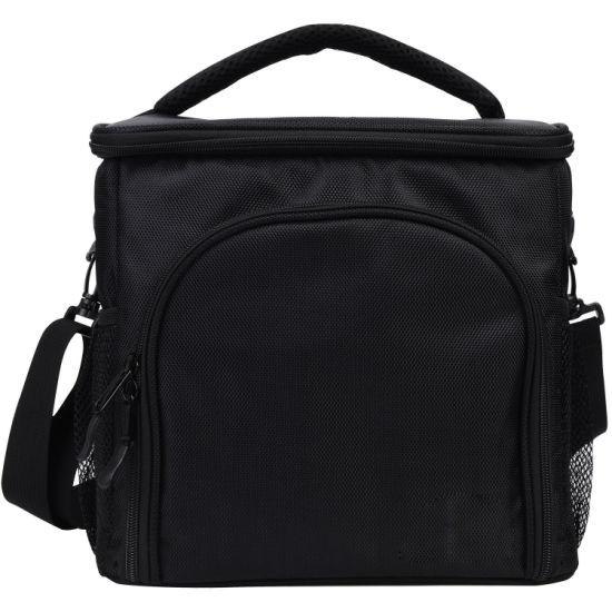 Insulated Box Cooler Detachable Shoulder Strap Lunch Bag