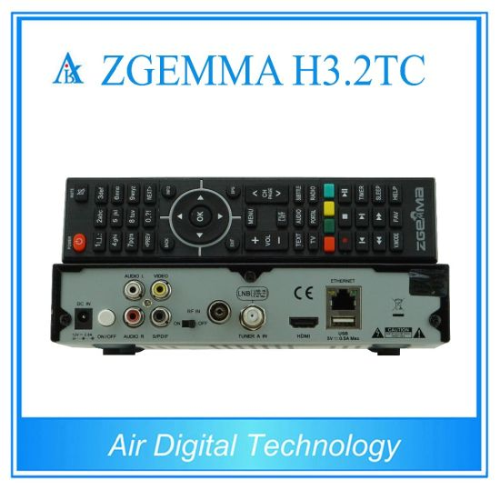 Super Hot Sale Zgemma H3.2tc Satellite/Cable Receiver Linux OS Enigma2 DVB-S2+2xdvb-T2/C Dual Tuners pictures & photos