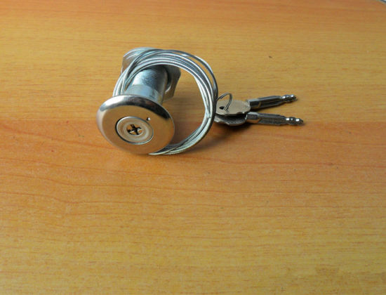 China Garage Door Emergency Key Lock With Long Cable Cord China