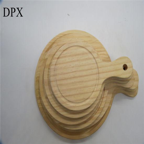 Kitchenware Kitchen Untensils Plywood Wholesale Customer Size Wooden Pizza Plate