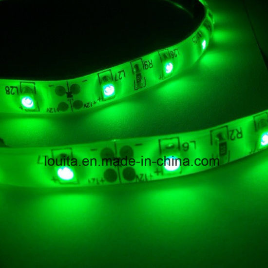 Green Color SMD 3528 60LEDs/M LED Strip Lamp pictures & photos