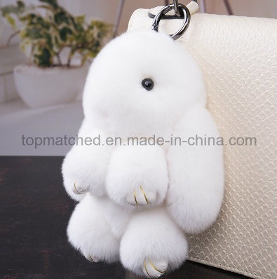 Rex Rabbit Pendant Plush Toy Bunny Rabbit Keychain Backpack Ornaments pictures & photos