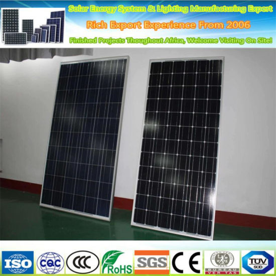 High Efficiency 5W-300W Solar Panel / Factory Low Price Mini
